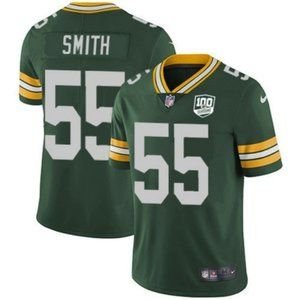 Green Bay Packers Za'Darius Smith 100th Jersey